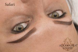 Patkós Alexandra sminktetoválás szemöldök tetoválás