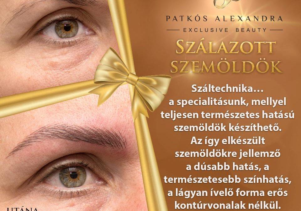 Patkós Alexandra Exclusive Beauty sminktetoválás és szemöldöktetoválás BUÉK Advent