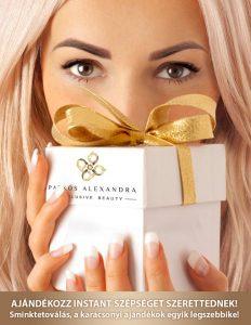 Patkós Alexandra Exclusive Beauty sminktetoválás és szemöldöktetoválás Karácsony