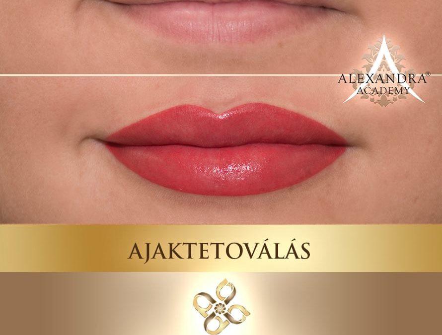 Patkós Alexandra Exclusive Beauty ajaktetoválás