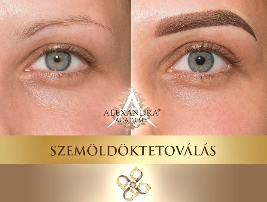 Patkós Alexandra Exclusive Beauty szemöldöktetoválás