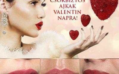 Csókbiztos Valentin Nap