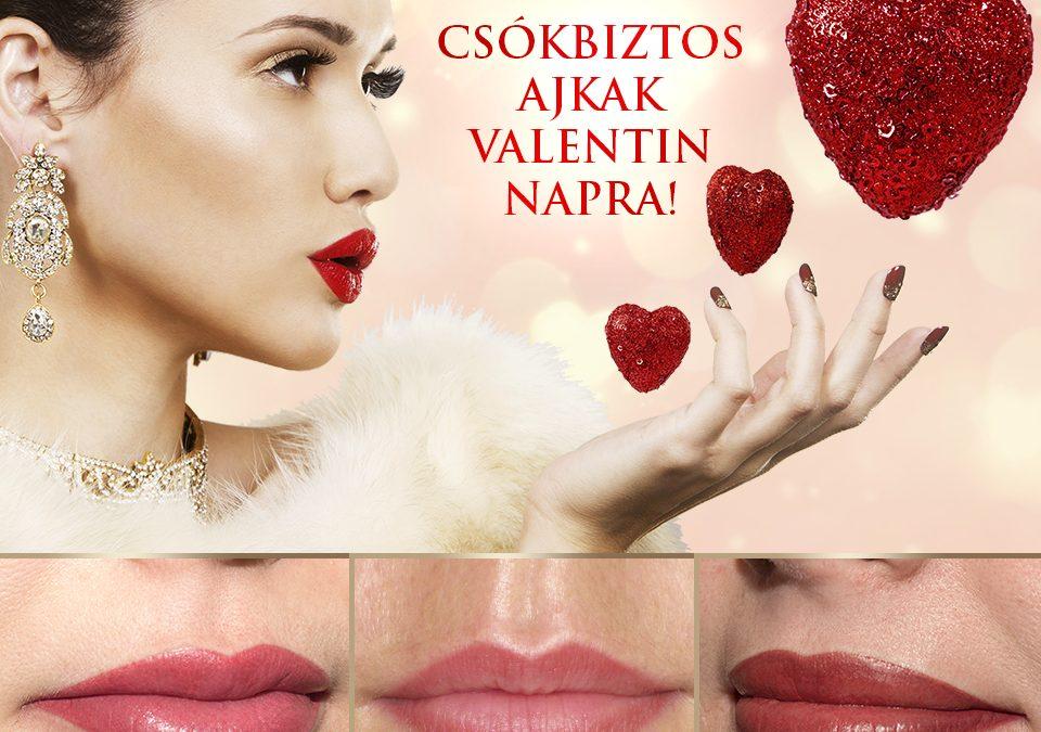Patkós Alexandra Exclusive Beauty szájtetoválás Valentin nap