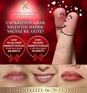 Patkós Alexandra Exclusive Beauty szájtetoválás