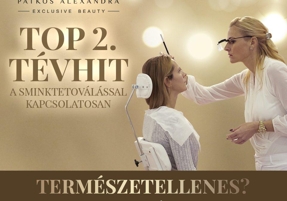 Patkós Alexandra Exclusive Beauty tévhitek a sminktetoválásról 2.