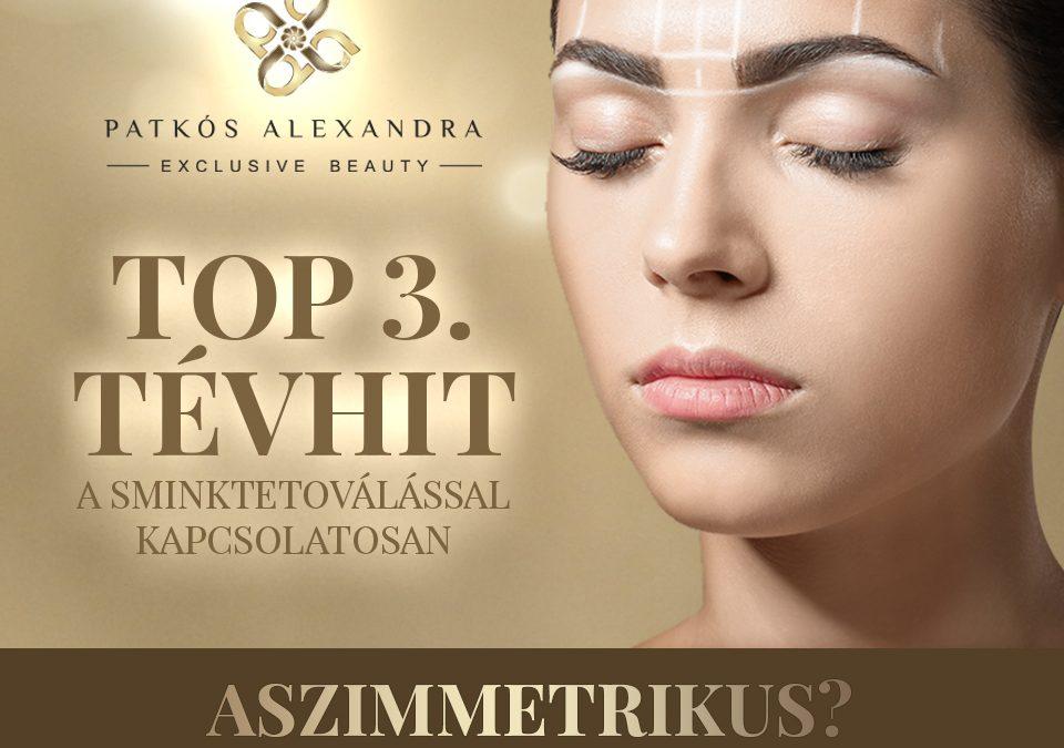 Patkós Alexandra Exclusive Beauty tévhitek a sminktetoválásról 3.