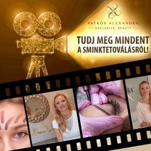 Patkós Alexandra Exclusive Beauty - Tudj meg mindnet a sminktetoválásról