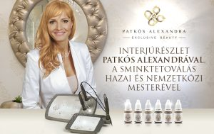 Patkós Alexandra sminktetováló mester