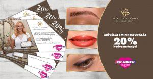 Patkós Alexandra Exclusive Beauty - sminktetoválás. szemöldöktetoválás - Joy napok