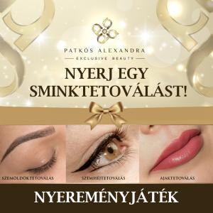 Patkós Alexandra Exclusive Beauty - sminktetoválás. szemöldöktetoválás - nyereményjáték