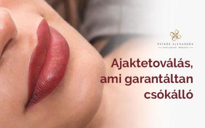 Tedd ajkaidat csókállóvá! Próbáld ki a tartós szájtetoválást!